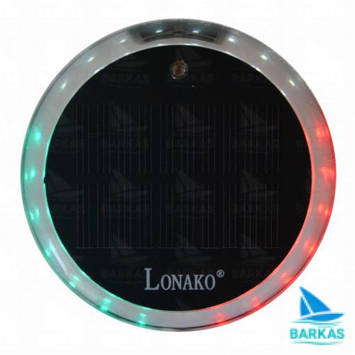 Портативные трехцветные навигационные огни Lonako Fasten Lc003