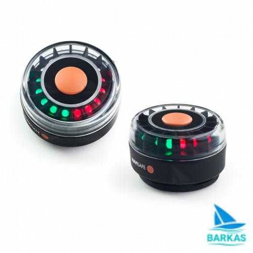 Портативные трехцветные навигационные огни NaviSafe Fasten Nc003