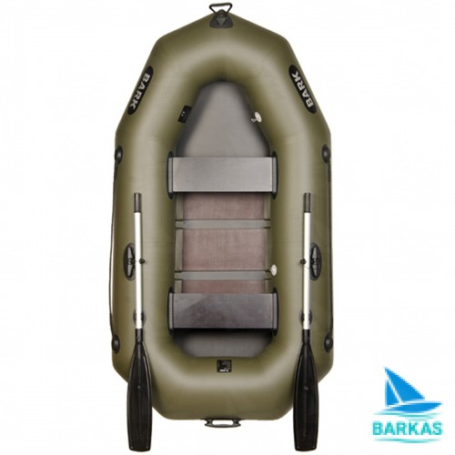Лодка BARK B-230С (БАРК Б-230C) гребная надувная лодка
