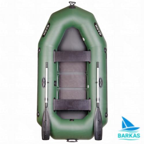 Лодка BARK B-250 (БАРК Б-250) гребная надувная лодка