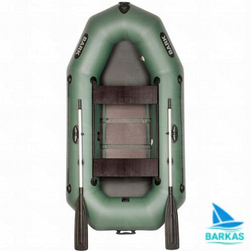 Лодка BARK B-250D (БАРК Б-250Д) гребная надувная лодка