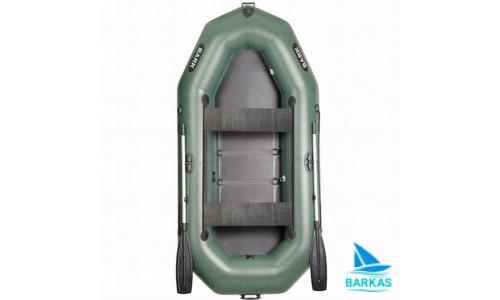 Лодка BARK B-280D (БАРК Б-280Д) гребная надувная лодка