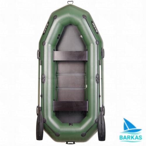 Лодка BARK B-280P (БАРК Б-280П) гребная надувная лодка