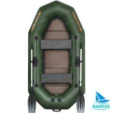 Лодка KOLIBRI K-250Т с пайолом слань-книжка