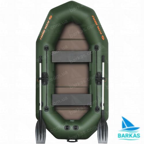 """Лодка KOLIBRI K-250Т с пайолом слань-книжка серия """"Профи"""""""