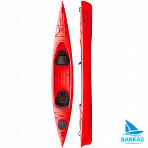 Каяк двухместный KOLIBRI Twin-Go красный
