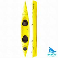 Каяк двухместный KOLIBRI Twin-Go желтый