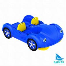 Водный велосипед KOLIBRI mini Beetle сине-желтый