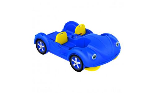 Водный велосипед mini Beetle сине-желтый