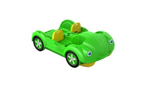 Водный велосипед mini Beetle зелено-желтый
