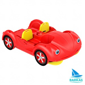 Водный велосипед KOLIBRI mini Beetle красно-желтый