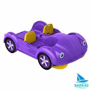 Водный велосипед KOLIBRI mini Beetle фиолетово-желтый