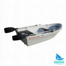 Пластиковая лодка KOLIBRI RKM-350 Grey