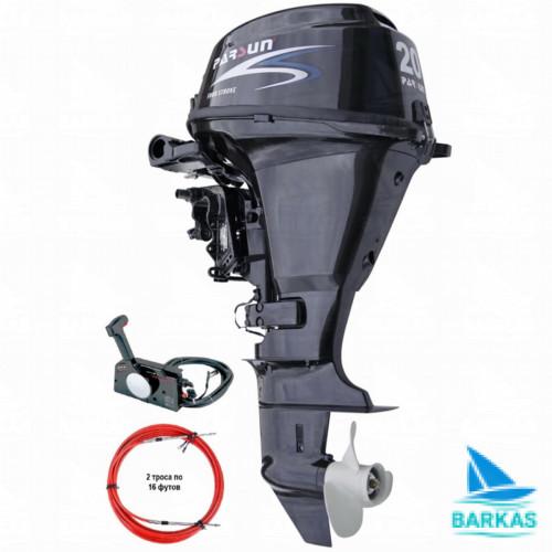 Лодочный мотор  Parsun F15A FWS