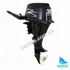 Лодочный мотор  Parsun F20A BMS четырехтактный