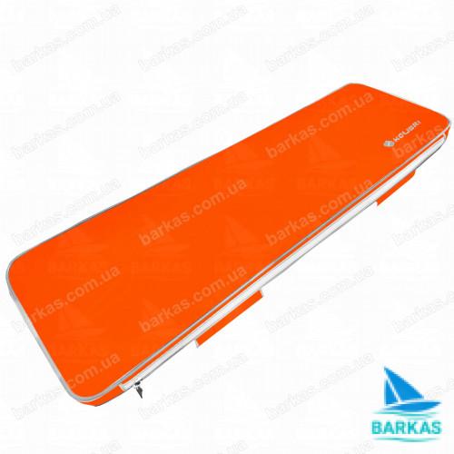 Мягкое сиденье для лодки 75х20 KOLIBRI оранжевый
