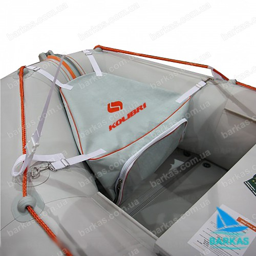 Носовая сумка-рундук KOLIBRI К220-КМ360DSL серый