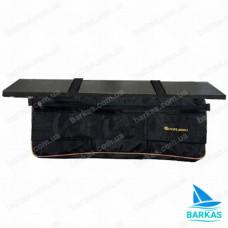Сумка-рундук KOLIBRI 73х19х23 под банку черный