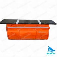 Сумка-рундук KOLIBRI 73х19х23 под банку оранжевый