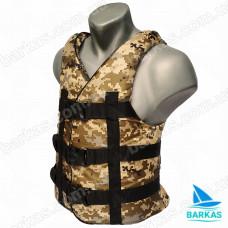 Страховочный жилет BARKAS 70-90 кг камуфляж
