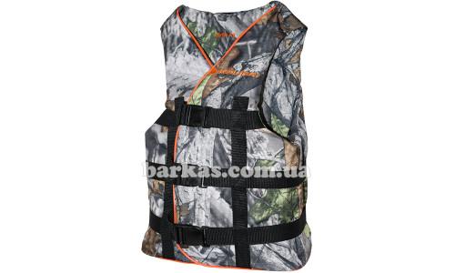 Страховочный жилет KOLIBRI 70-90 кг камуфляж-дубок