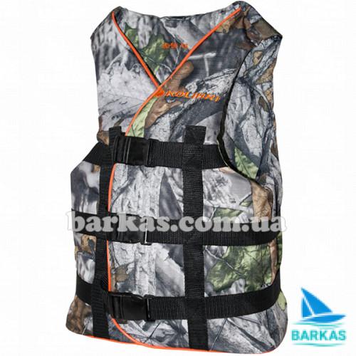 Страховочный жилет KOLIBRI 50-70 кг камуфляж-дубок