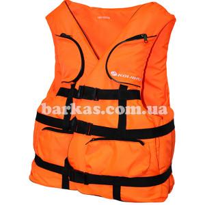 Страховочный жилет KOLIBRI 30-50 кг детский оранжевый