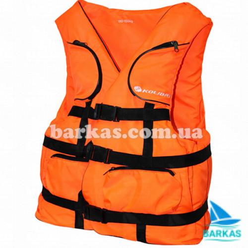 Страховочный жилет KOLIBRI 50-70 кг оранжевый