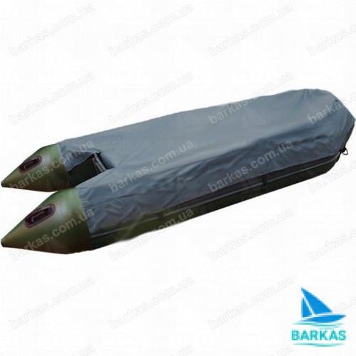Транспортировочный тент для лодки KOLIBRI КМ-280 темно-серый