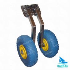 Транцевые колеса КТ-3Н ТОП автомат из нержавейки