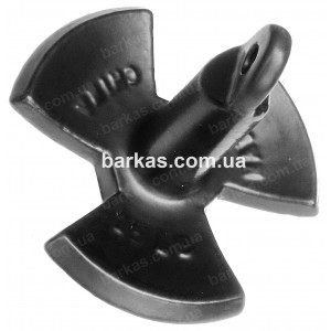 Якорь речной 6,8 кг (PE 15lbs) лепестковый для лодки